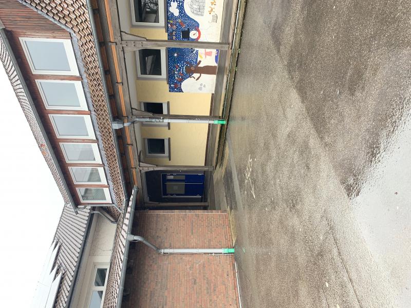 Eingang zum Lehrbecken